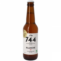 Bière Blanche - Brasserie 744